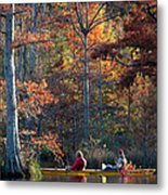 A Fall Fishing Trip Metal Print
