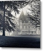 A Famous French Castle Metal Print