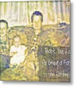 A Father To The Fatherless Metal Print