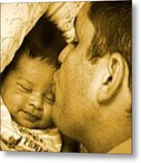 A Father's Love Metal Print