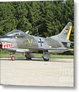 A Fiat G-91 Fighter Plane Of The German Metal Print