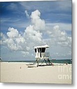 A Fine Day At The Beach Metal Print