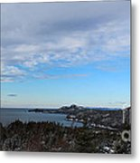 A Fine January Day On The Bay Metal Print