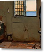 A Fisherman's Bedroom Metal Print