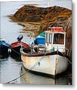 A Fishing We Will Go Metal Print