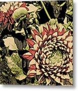 A Floral View Metal Print