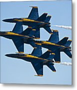 A Formation Of Angels Metal Print