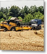 A French Harvest Metal Print