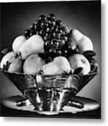 A Fruit Bowl Metal Print