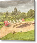 A Gathering Of Friends Metal Print