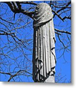 A General's Draped Monument Metal Print