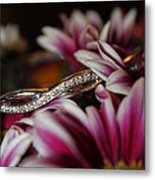 A Gift Amongst The Flowers Metal Print