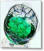 A Glass Of Bubbly Metal Print