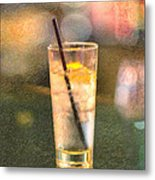 A Glass Of Water Metal Print