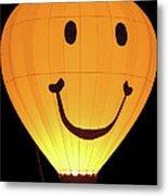 A Glowing Smile Metal Print