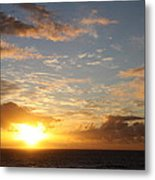 A Golden Sunrise - Singer Island Metal Print