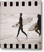 A Good Day To Surf Metal Print