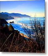 A Gorgeous Morning On The Pacific Metal Print