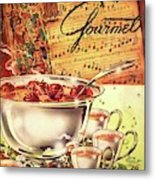A Gourmet Cover Of Apples Metal Print
