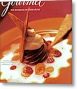 A Gourmet Cover Of Moch Mousse Metal Print