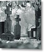 A Graveyard Metal Print
