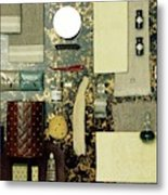 A Group Of Household Items Metal Print