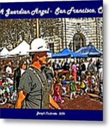 A Guardian Angel  Metal Print