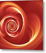 A Heart In Turmoil Metal Print