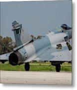 A Hellenic Air Force Mirage 2000 Egm Metal Print
