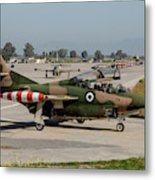 A Hellenic Air Force T-2 Buckeye Metal Print
