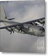 A Hercules C130j Transport Aircraft  Metal Print