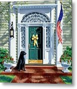 A Hero's Welcome  Metal Print by Michael Swanson