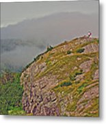 A High Point On Signal Hill National Historic Site In Saint John's-nl Metal Print