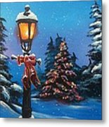 A Holiday Carol Metal Print