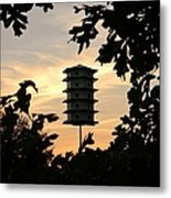 A Home Among The Trees Metal Print by Jean Goodwin Brooks