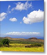 A Home With A View Metal Print