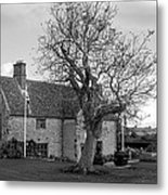 A House And A Tree Metal Print