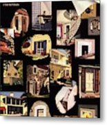 A House And Garden Cover Of House Details Metal Print