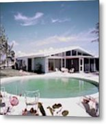 A House In Miami Metal Print