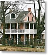 A House Is A Home Is For The Birds In New Hope Pa Metal Print