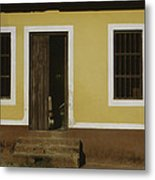 A House Is Made Of Walls And Beams A Home Is Built With Love  Metal Print