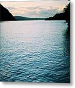 A Hudson River View Metal Print