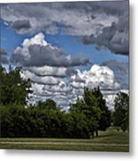 A July Cold Front Rolling By Metal Print