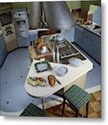 A Kitchen Designed By Ralph & Jane Bonnell Metal Print
