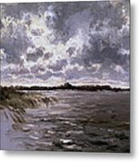 A Lake In The Netherlands Metal Print