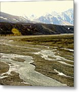 A Land Of Mountains Rivers And Valleys Metal Print