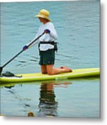 A Lazy Afternoon On The Lake Metal Print