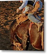 A Leap And A Bound Metal Print