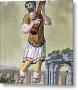 A Lictor, Bearer Of The Fasces Metal Print