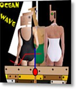A Life On The Ocean Wave Metal Print